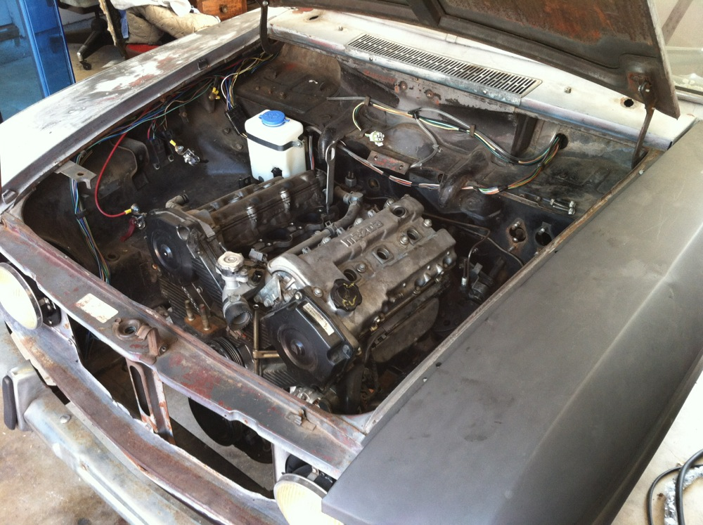 My latest engine swap - 410/411 - Ratsun Forums